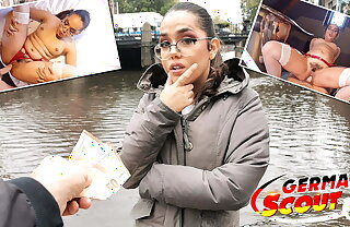 GERMAN SCOUT - NERDY CURVY TEEN – PICKUP AND Estimated FUCK