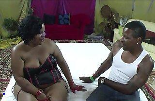 Huge Ebony Mama BBW Fucking A Big Black Cock