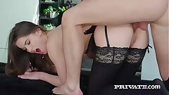 Evelina Darling, soft on undergarments increased by and anal sexual intercourse