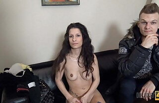 HUNT4K. Modest young chick agrees to become a slut be worthwhile for some money