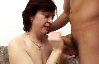 Horny Cougar Mom Seduce StepSon to Fuck when home Alone