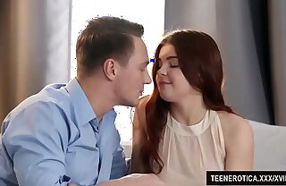 Redheaded Vixen Renata Fox Uses Their way Pussy to Please a Guy