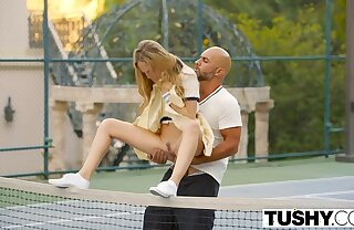 Butt First Anal For Tennis Student Aubrey Star