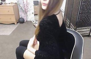 cute skinny amateur teen floosie dressed in black mastrubat www.slutcam4.me