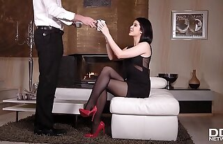Acquire ready for some epic foot fetish Hardcore fucking with sweetie Lady Dee