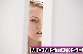 Step mom added to son give excuses teen squirt in hot threesome